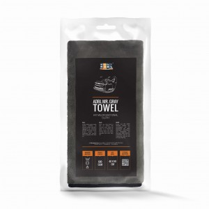 ADBL Mr. Gray Towel - Puszysta Mikrofibra do Wosków, 40x60, 600g